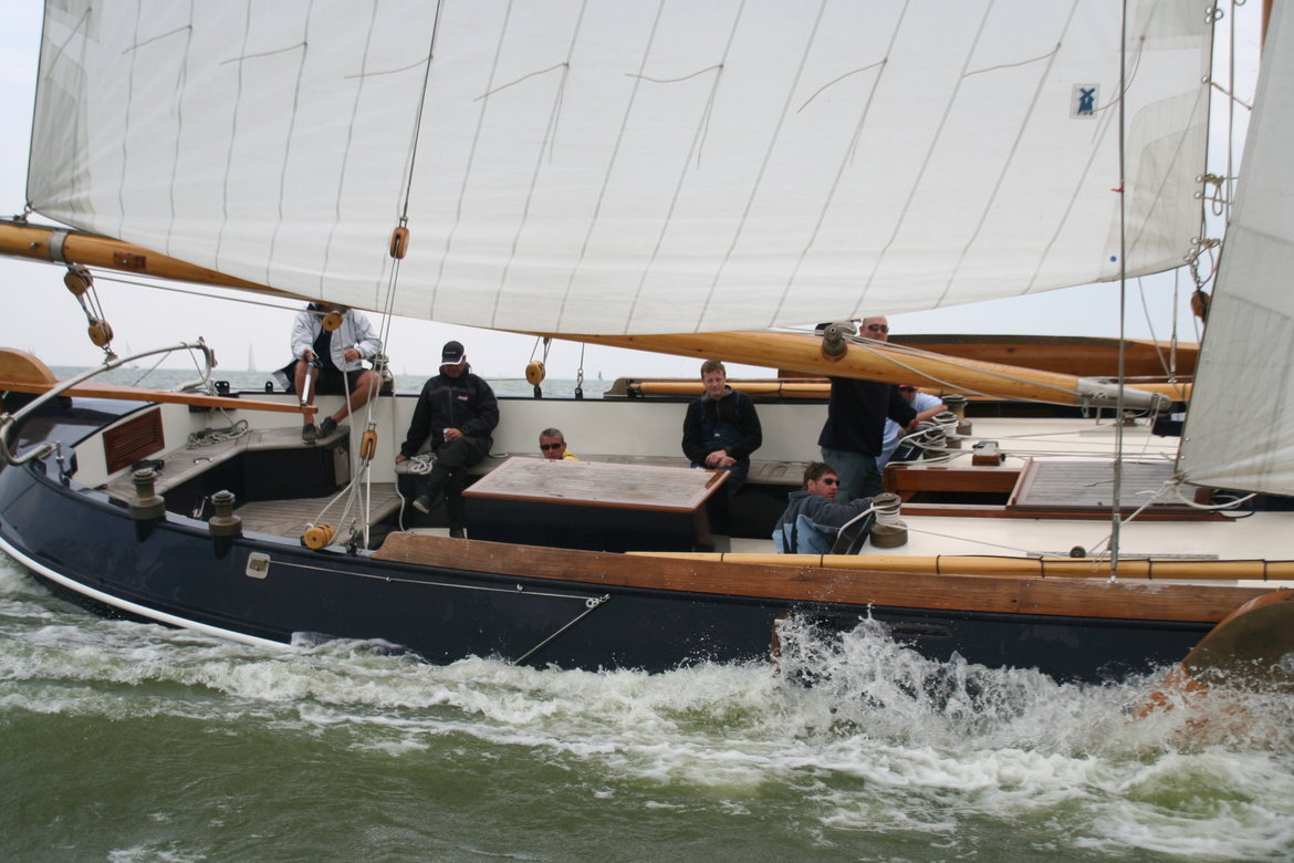 ZA1 De Jager, multiple Dutch Champion sails with LVJ Winches